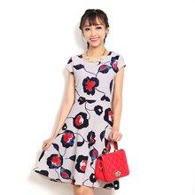 Đầm Vintage Cirino Hoa 03