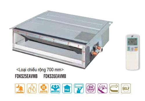 Dàn lạnh Multi Daikin FDKS35EAVMB - giấu trần, nối ống gió, 1 chiều, 12.000BTU