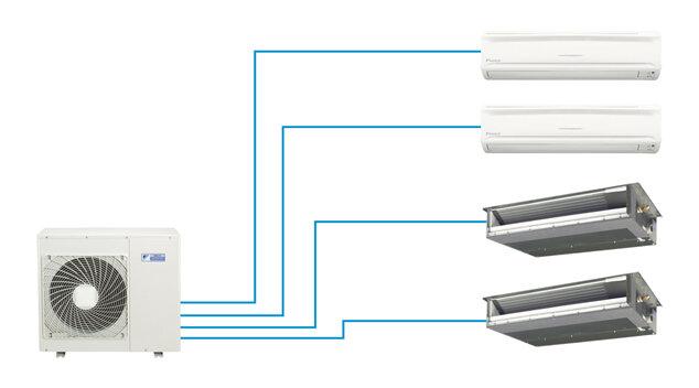 Dàn nóng điều hòa - máy lạnh Daikin 4MKS80ESG - 1 chiều, 28000 BTU