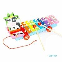 Đàn Xylophone 8 phím Bò sữa Veesano VH41D