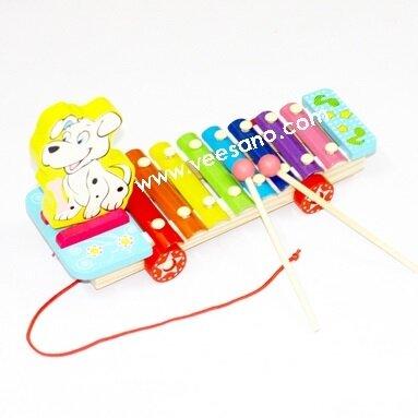 Đàn Xylophone 8 phím Cún con Veesano VH41D