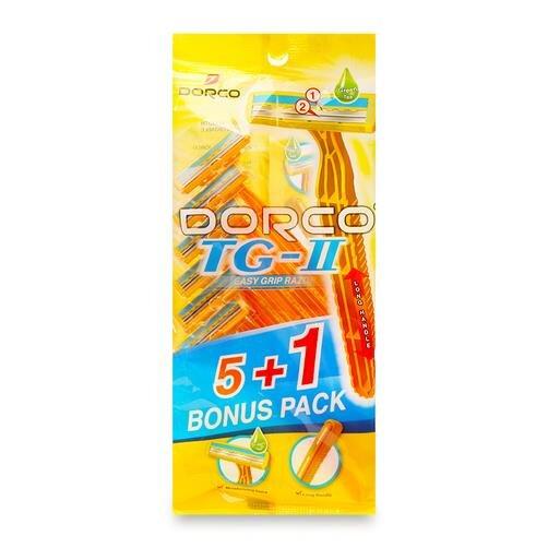 Dao cạo du lịch Dorco TG710 6 chiếc