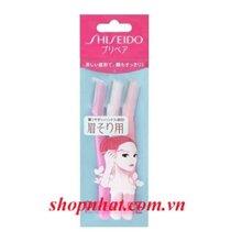 Dao cạo lông mày Shiseido gói 3 cây