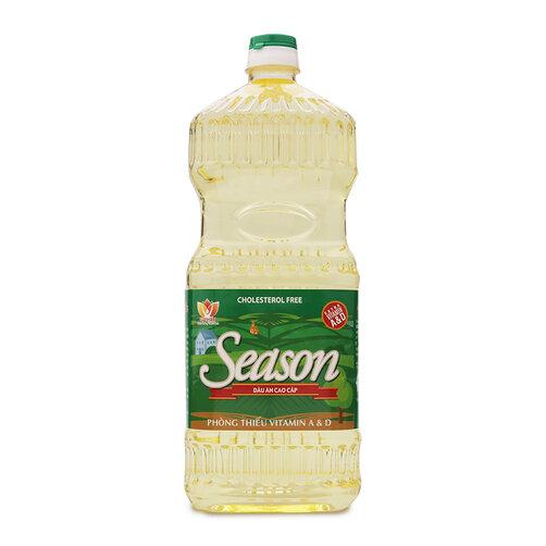 Dầu ăn cao cấp Season Tường An chai 1.8L