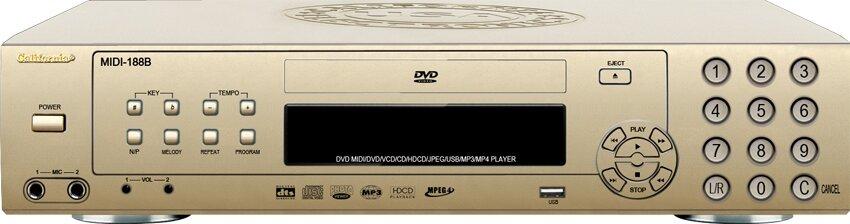 Đầu California DVD MIDI 188B