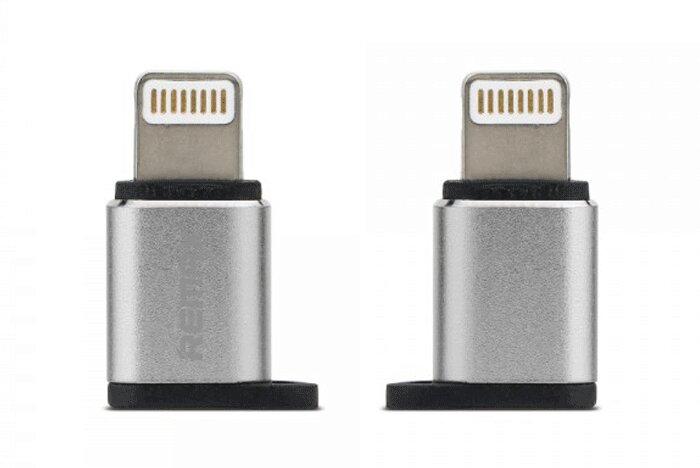 Đầu chuyển Micro USB to apple Remax visual RA-USB2
