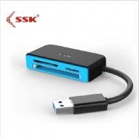 Đầu đọc thẻ nhớ USB 3.0 SSK SCRM330