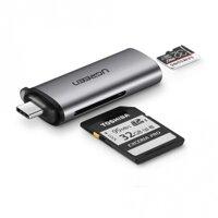 Đầu đọc thẻ SD/TF USB type-C Ugreen 50704