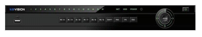 Đầu ghi hình kbvision KX-8216D5 - 16 kênh