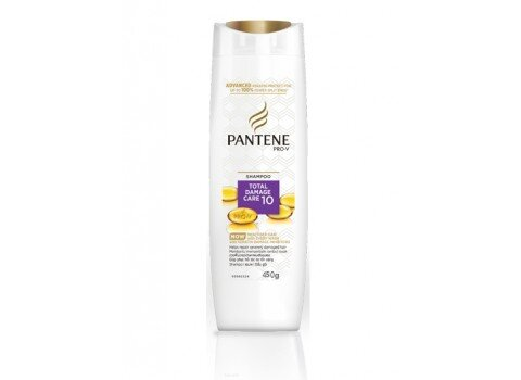 Dầu gội chăm sóc tóc hư tổn PANTENE ProV Total Damage Care Shampoo 450g