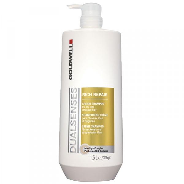 Dầu gội chữa trị tóc hư tổn siêu mượt Goldwell Dualsenses Rich Repair – 1500ml