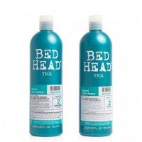 Dầu gội, dầu xả phục hồi sinh lực Tigi bed head recovery level 2 750ml