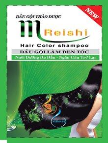 Dầu gội đen tóc thảo dược M Reishi 25ml