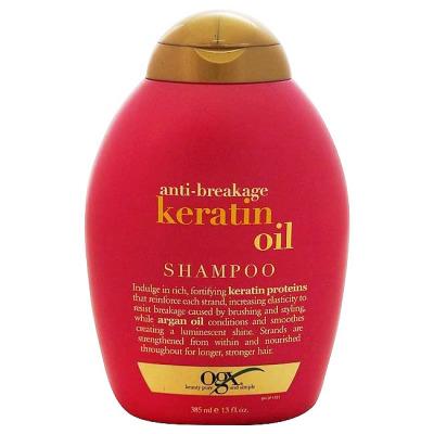 Dầu gội OGX Anti-Breakage Keratin Oil Shampoo
