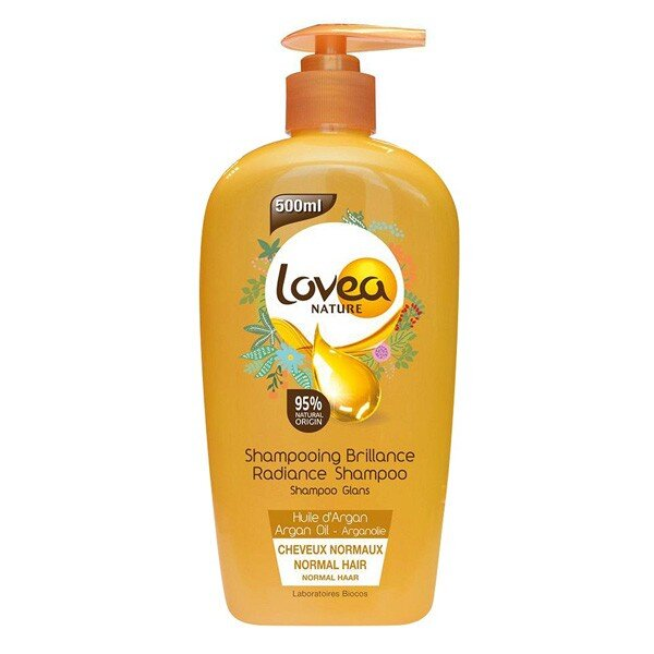Dầu gội tinh chất Argan - Radiance shampoo with argan Lovea