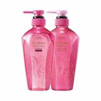 Dầu gội và dầu xả Shiseido Tsubaki Oil Extra - Màu hồng