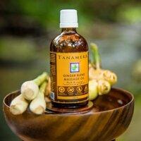Dầu massage hỗn hợp gừng Tanamera Ginger Blend Massage Oil 100ml
