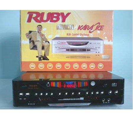 Đầu MIDI Karaoke 5 số Ruby MD 3600