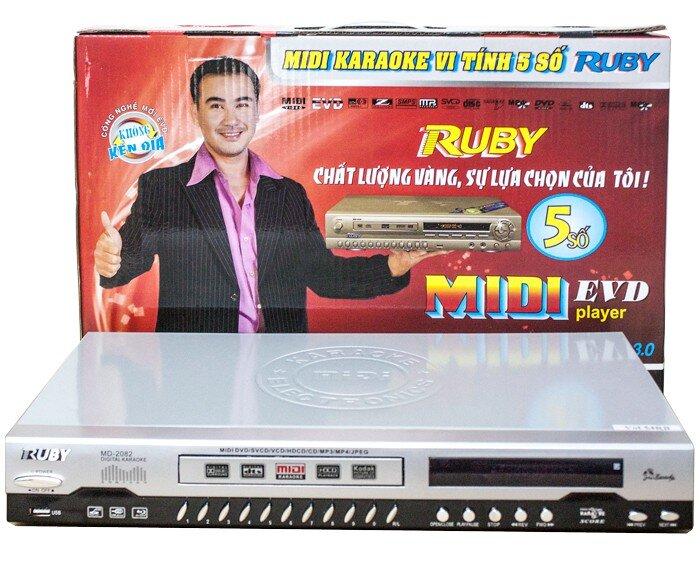 Đầu MIDI Karaoke 5 số Ruby MD-2082