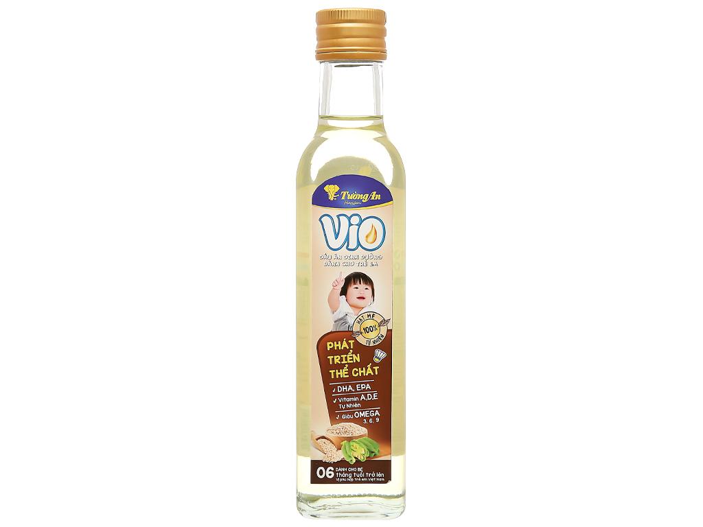 Dầu olive mè Tường An Vio chai 250ml