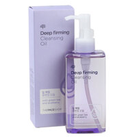 Dầu tẩy trang Deep Firming Cleansing Oil The Face Shop