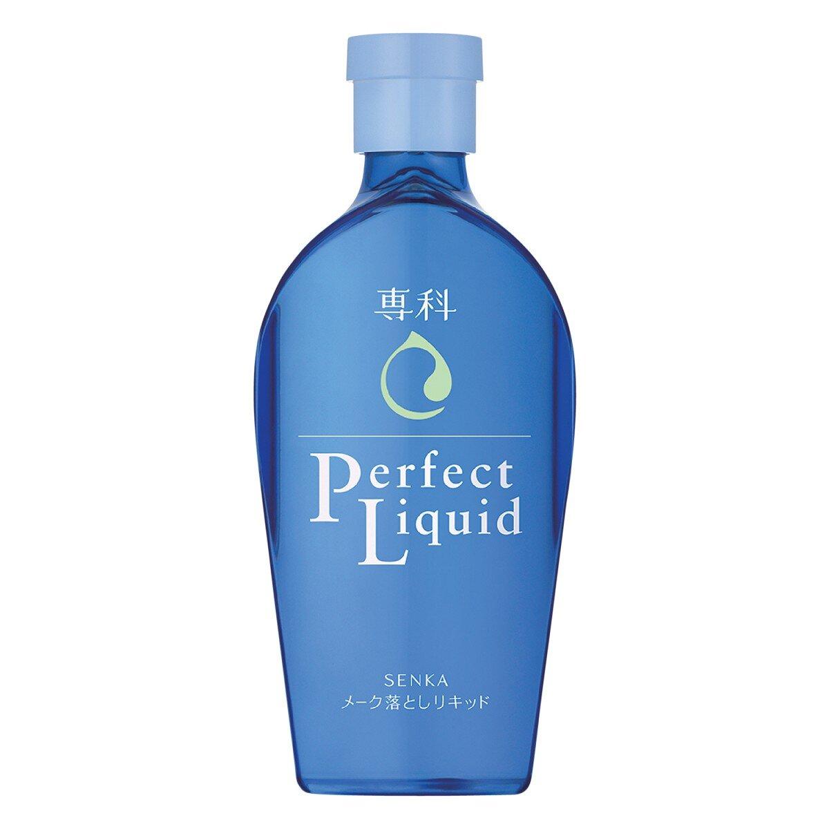 Dầu Tẩy Trang Dịu Nhẹ Dành Cho Da Khô Senka Perfect Liquid 230ml