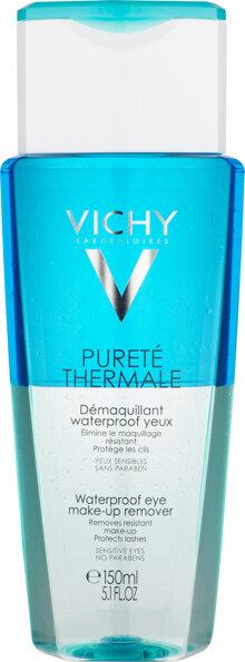 Dầu tẩy trang mắt và môi Vichy Purete Thermale Waterproof Eye Make-Up Remover 150ml