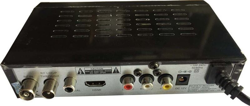 Đầu thu DVB T2 Sunrise S-1000