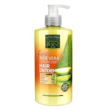 Dầu xả cho tóc hư tổn từ nha đam GREEN GRAPHY Fresh Aloe Vera Damage Care Hair Conditioner 500ml