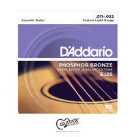 Dây đàn Guitar Acoustic DAddario EJ26