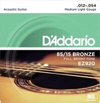 Dây đàn Guitar Acoustic DAddario EZ920