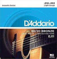 Dây đàn guitar acoustic D'Addario EJ11 (EJ-11)