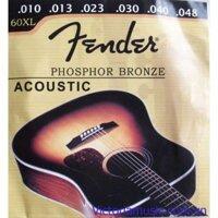 Dây đàn guitar Acoustic Fender