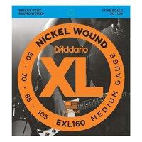 Dây Đàn Guitar Bass DAddario EXL160 (4 Dây)