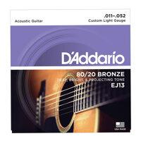 Dây guitar acoustic D'addario EJ13