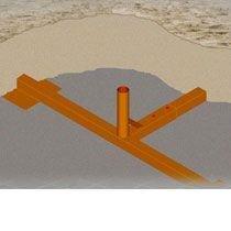 Đế bóng chuyền bãi biển V440