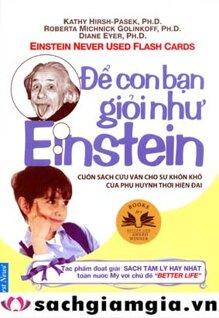 Để con bạn giỏi như Einstein - Nhiều Tác Giả