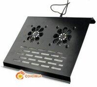 Đế tản nhiệt laptop 2 quạt sắt lx-003