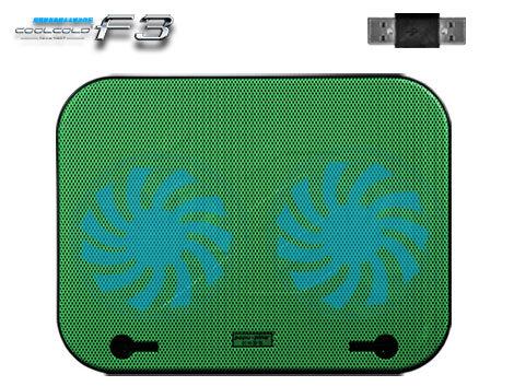 Đế tản nhiệt Laptop Popu Pine F3