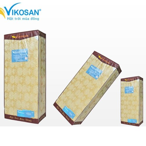 Đệm bông ép Vikosan 160 x 200 x 7 cm