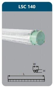 Đèn chống nổ Duhal LSC140