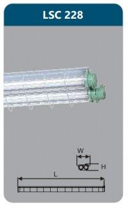 Đèn chống nổ Duhal LSC228