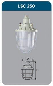 Đèn chống nổ Duhal LSC250
