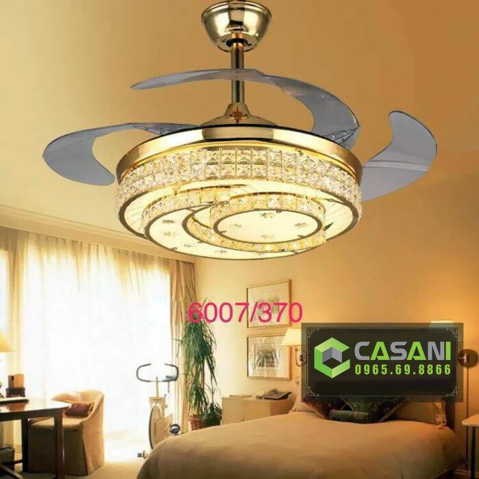 Đèn chùm quạt trần CQ6007