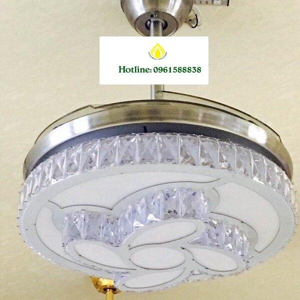 Đèn chùm quạt trần CQ6223