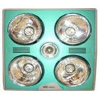 Đèn hồng ngoại âm trần cụm 4 đèn