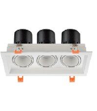 Đèn Led âm trần ELV ELV803F 3x7W