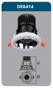 Đèn led chiếu điểm âm trần Duhal DFA414