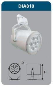 Đèn led chiếu điểm thanh ray Duhal 7w DIA810
