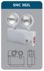 Đèn led chiếu sáng khẩn cấp Duhal SNC302L